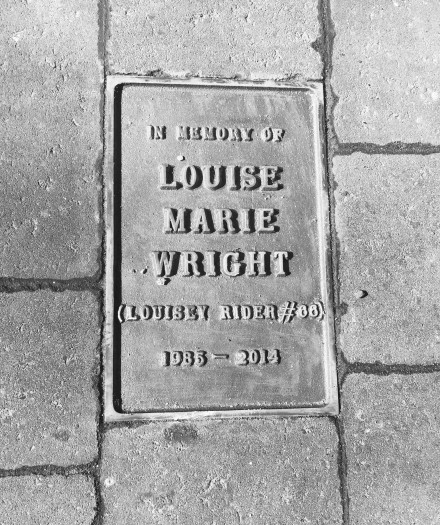 Memorial to Louise Wright