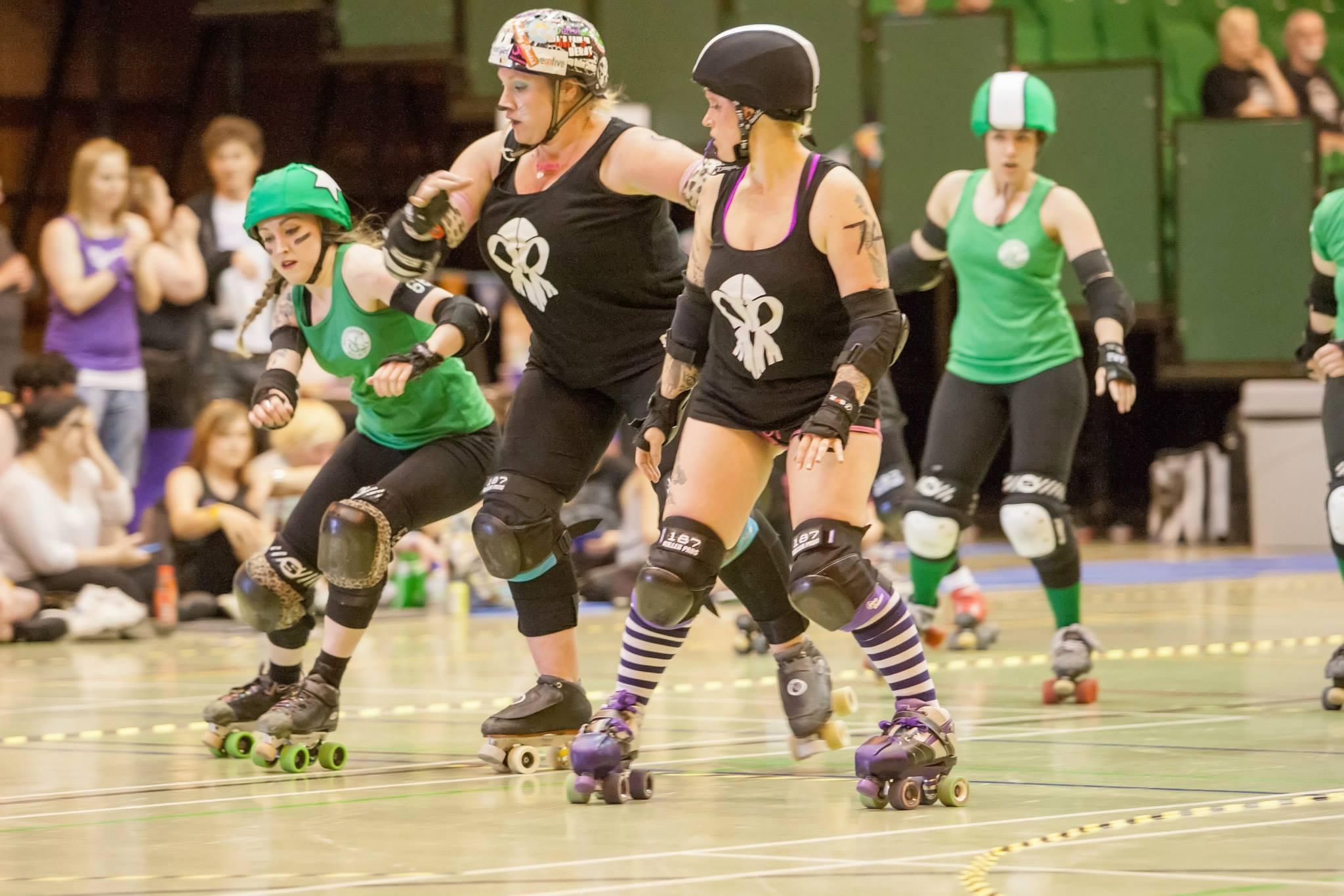 Jammer in roller derby | jammer homecoming warrior cast